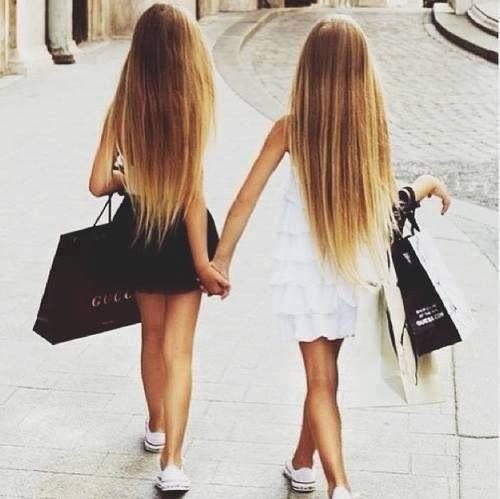 Mädchen Nummer für Freundschaft