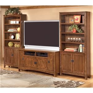 Ashley Furniture Cross Island 60 Inch TV Stand Amp 2 Large