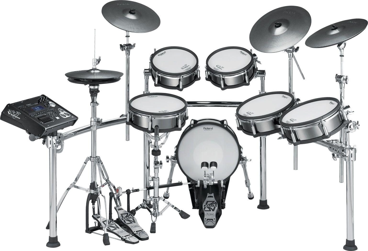 Roland V Drums Td 50kv 5 Piece Electronic Drum Set In 2020
