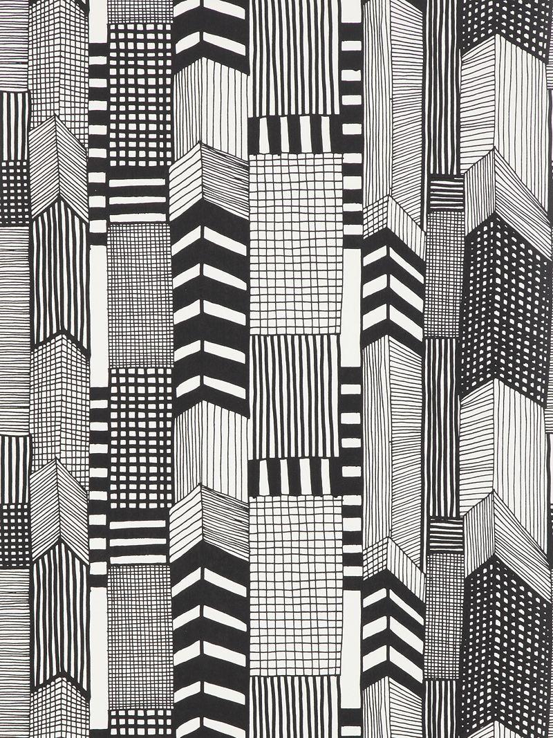 Marimekko Ruutukaava Wallpaper