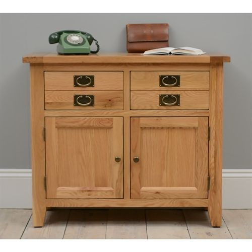 Vancouver Oak Small Sideboard including free delivery (721