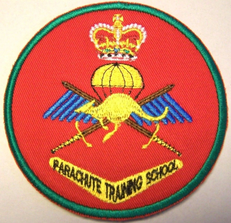 Australia australian army parachute training school patch red australia australian army parachute training school patch red biocorpaavc Choice Image