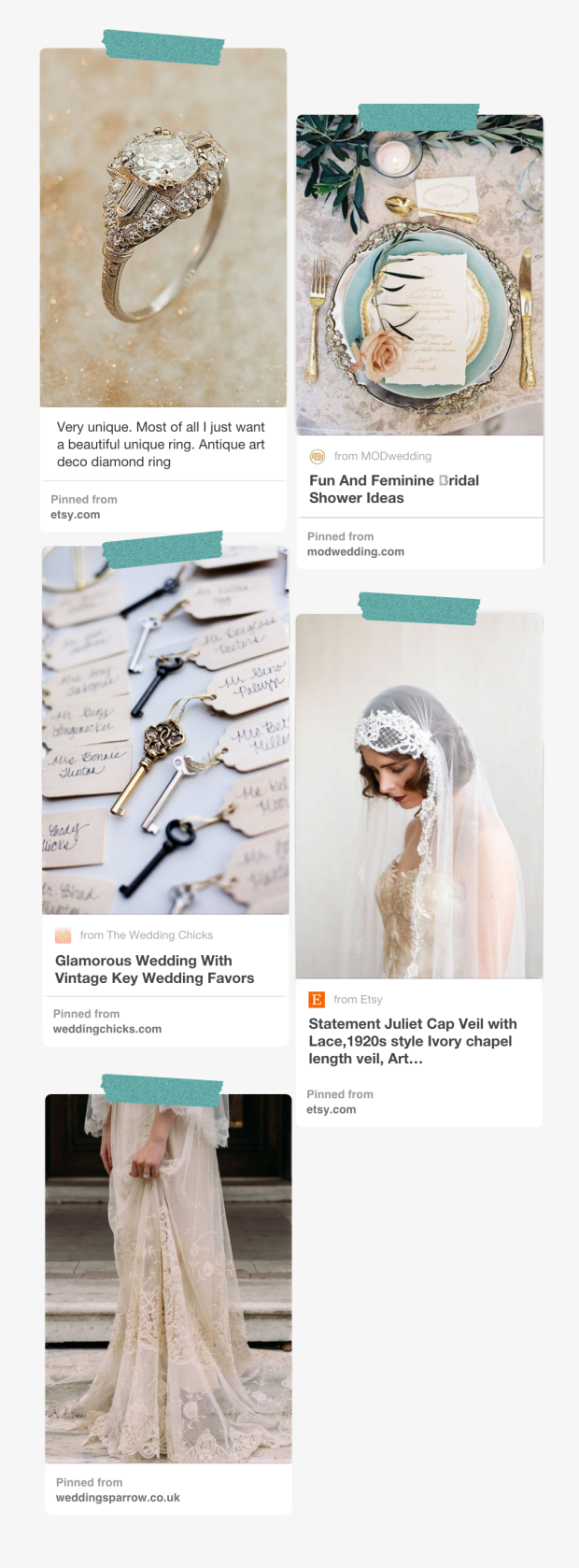 If you love intricately romantic details that modern wedding stores can't seem to replicate, you should consider going vintage for your big day