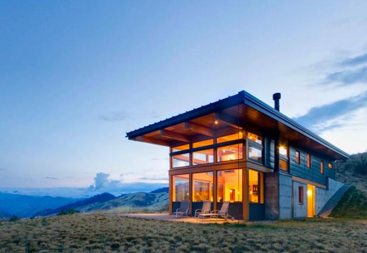 Modern Mountain Homes Plans Also | Mountain Modern | Pinterest ...