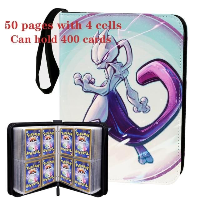 Photo of 2021 latest  Pokemon Cards Album Book Cartoon Anime Game Card EX GX Collectors Folder Holder Top Loaded List Cool Toys Gift – 50 pages 9 / China