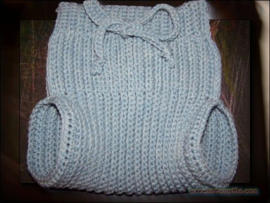 Crochet Knit Stretchy Wool Soaker Pattern Diaper Cover Free Easy