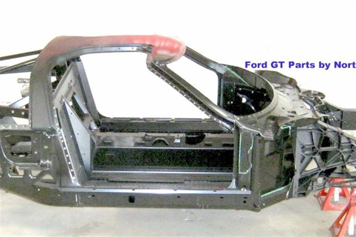 Ford Factory Oem Ford Gt Gt Chassis With Continuation Serial Number From Production Run