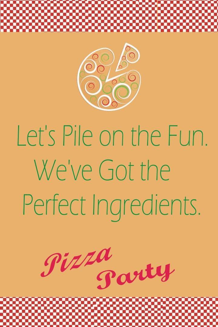 Pizza themed birthday party. | birthday party | Pinterest | Birthday ...