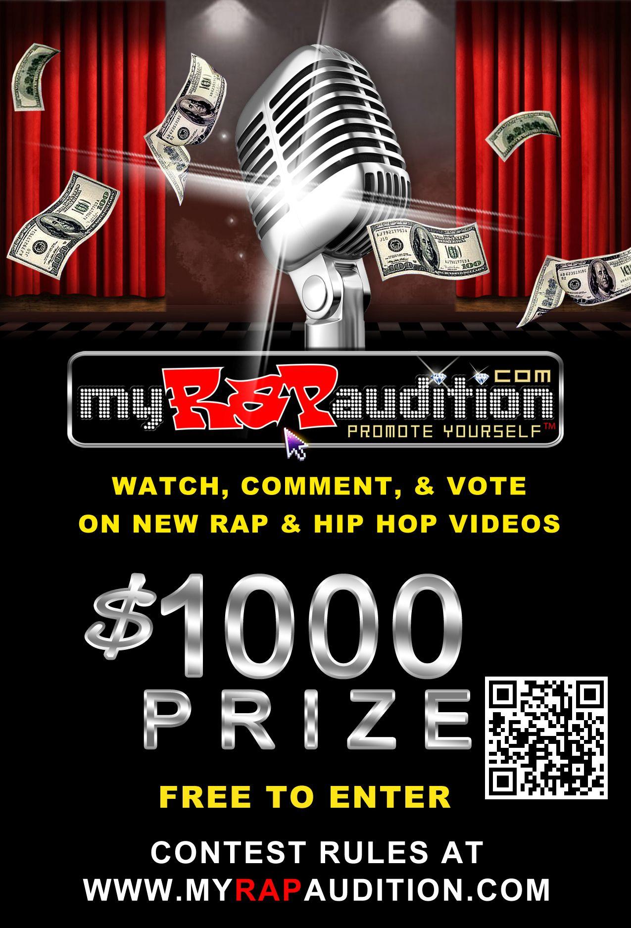 Rap Hip Hop Music Video Contest Completion  Find New Rap