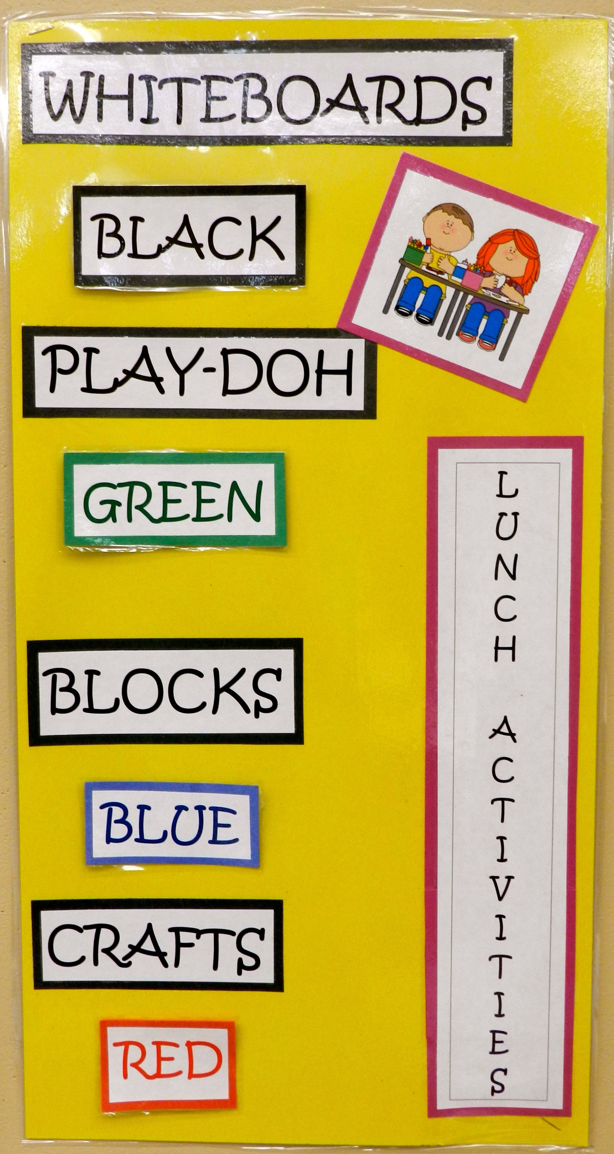 Keeping Unstructured Time Organized Each Student Is