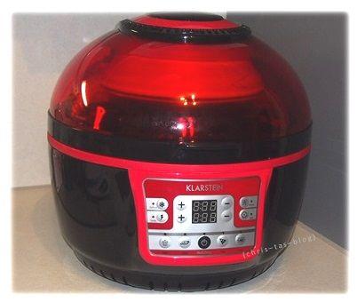 Klarstein Heißluftfriteuse VitAir Turbo #kochen #backen - kochen mit küchenmaschine
