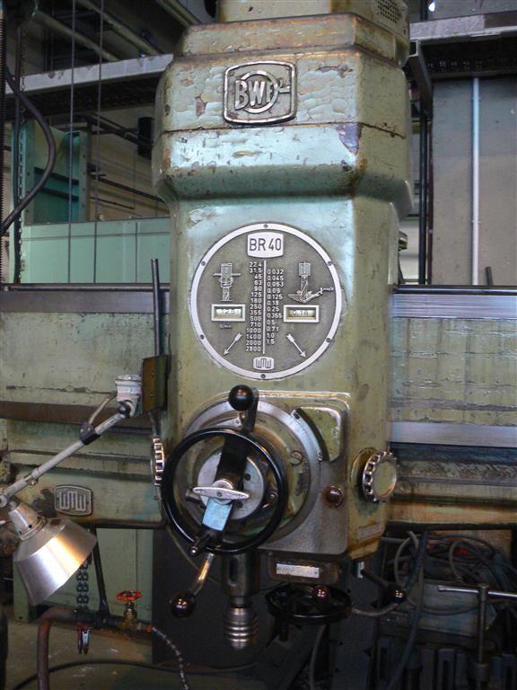WMW BR 40 x 1250 №1124-020615 - Radialbohrmaschine