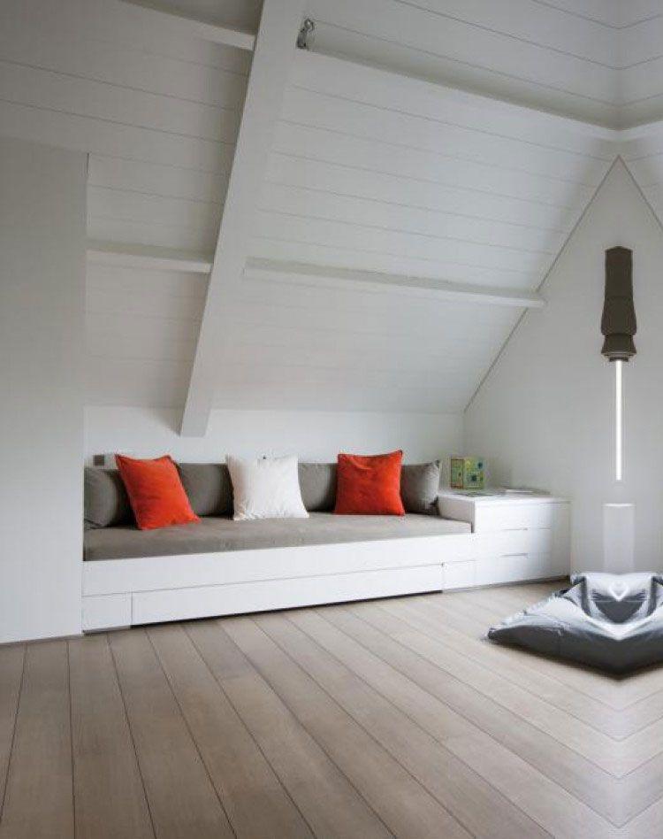 Afbeeldingsresultaat voor slaapkamer ideeen schuin dak | slaapkamer ...