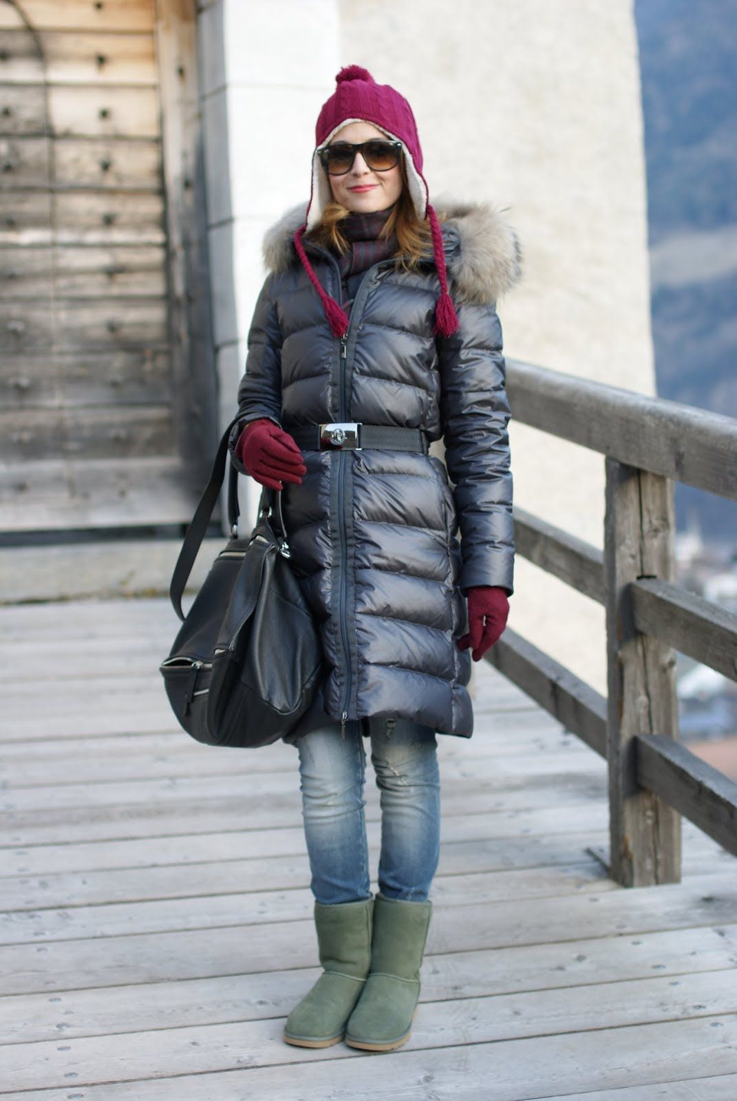 b2f109e44f8 A cold weather outfit: I need my UGG boots ! | Fashion | Ugg boots ...