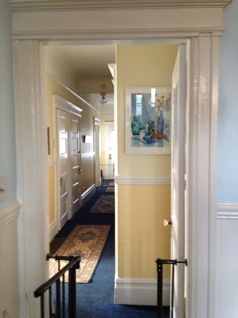 Hallway Watercolor by Carol Barany Catanio