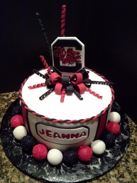 Gamecocks Cake Usc Cakes And Cake Pops Pinterest Cake Cake
