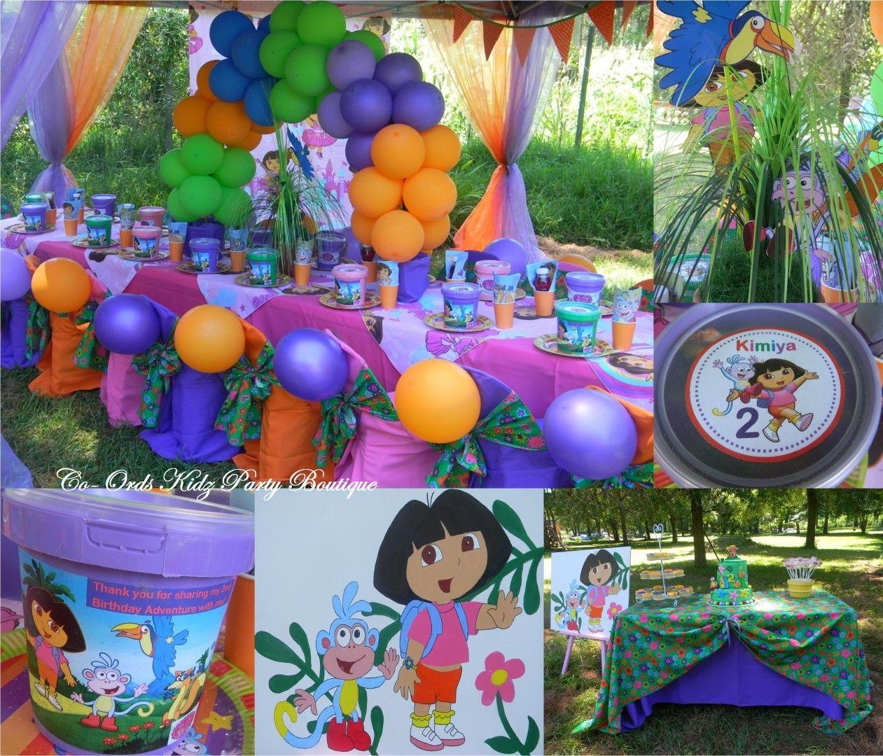 Dora the Explorer by Co-Ords Kidz Party Boutique