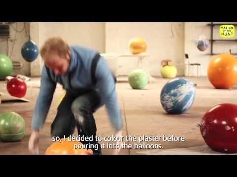 Maarten De Ceulaer: Balloon Bowls.  Fun video about the making of these bowls.