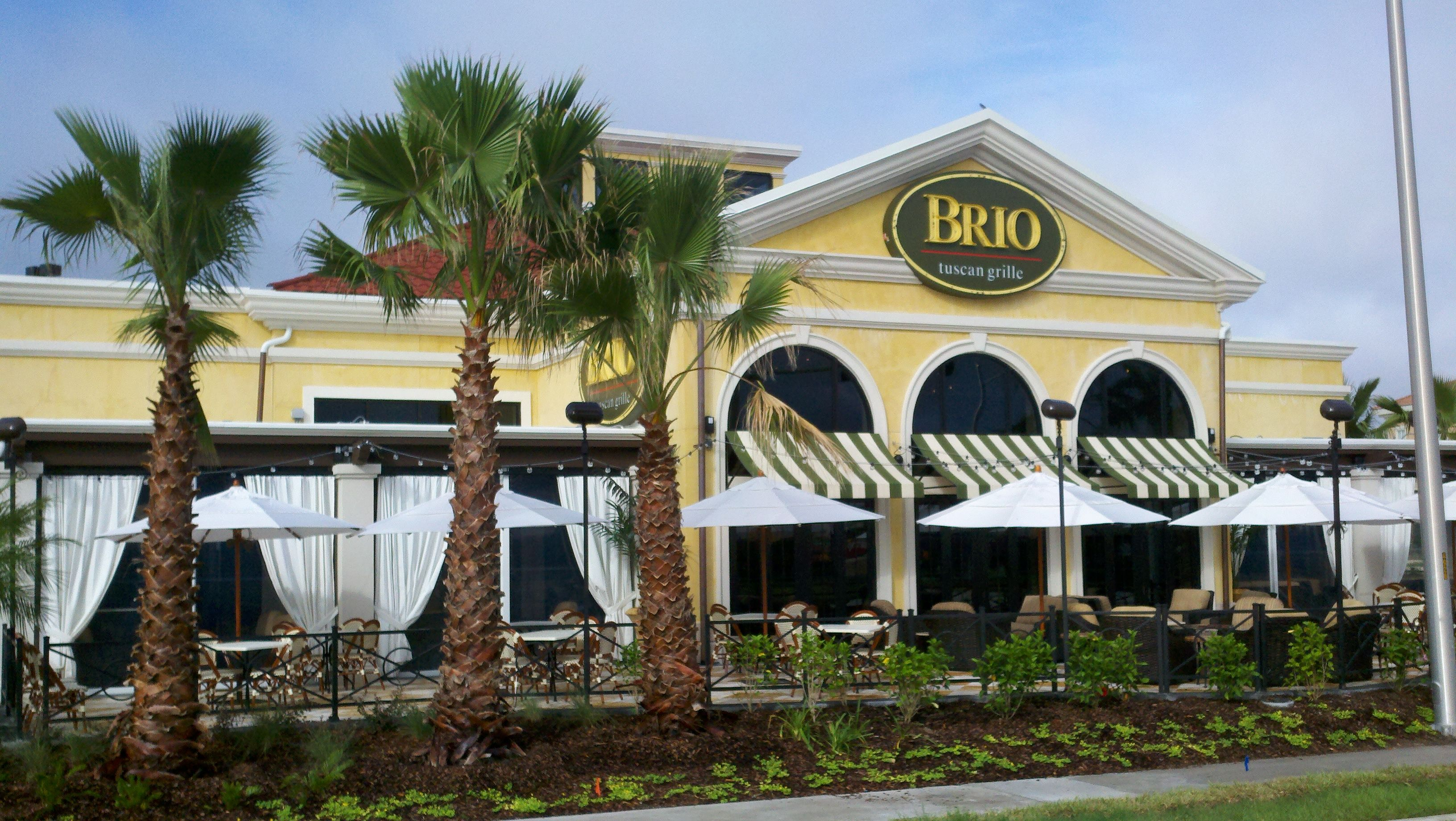 Brio Tivoli Village Happy Hour Menu Welcome To Brio Tuscan Grille Italian Restaurant In Jacksonville
