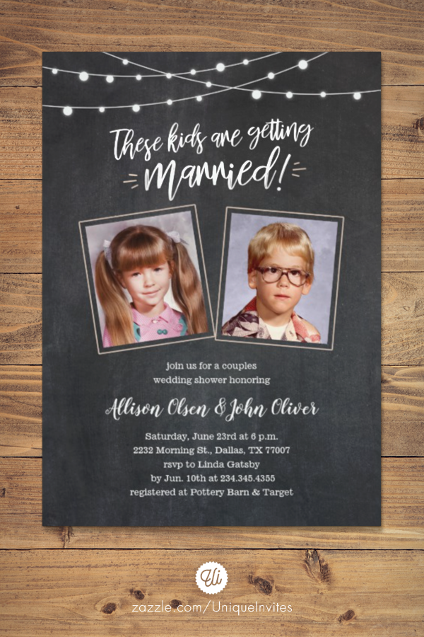 Old Photos Couples Wedding Shower Invitations Zazzle Com In 2020