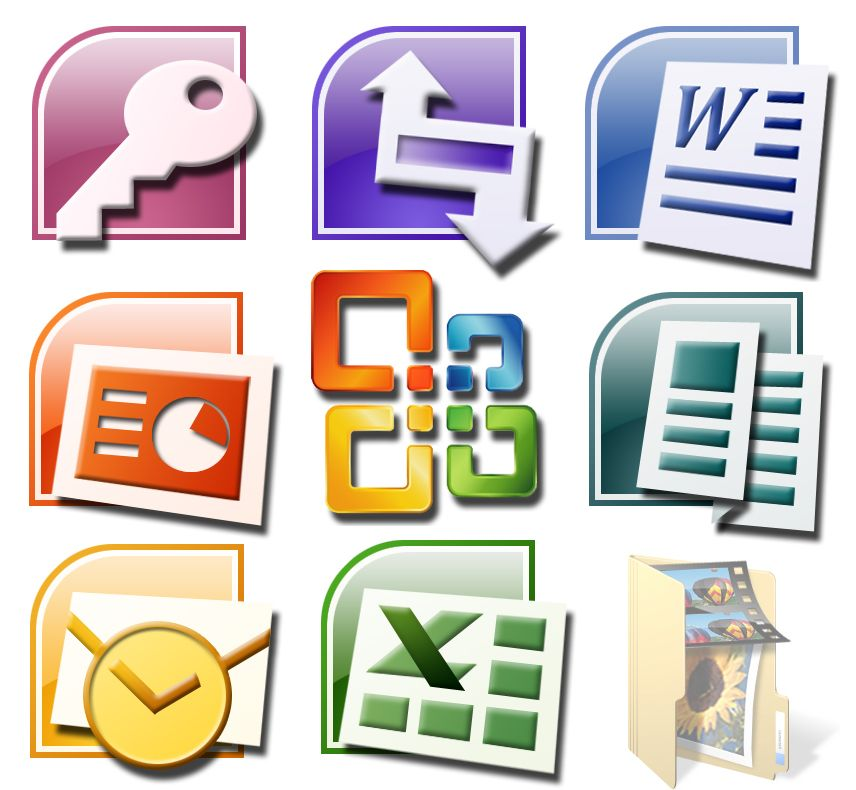 Microsoft Office - Word, Excel, Power Point, Acces, Outlook ...