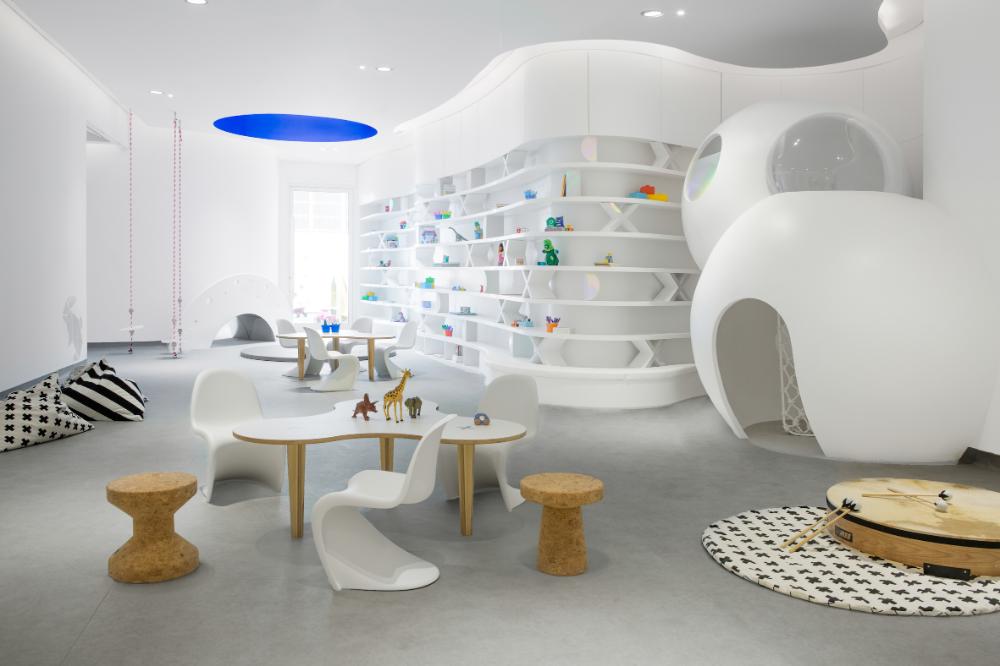 Roar Designed Nursery In Dubai Offers An Outlook Into The Future