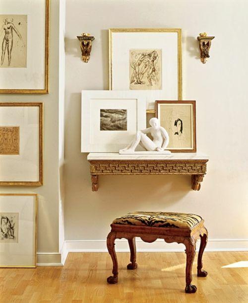 Wände dekoriert 85 + Fotos, Aufkleber, Geschirr und