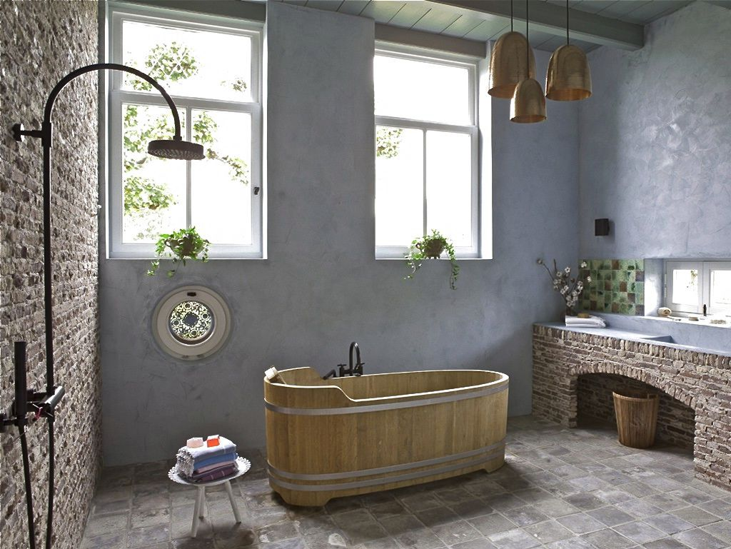 Photograph Modern Country Bathroom Decorating Ideas Shell Knob