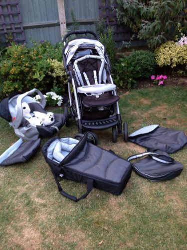 Baby Prams Mackay Mothercare Trenton Deluxe Pushchair Travel System