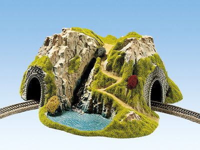 Buildings Tunnels and Bridges 99830: Noch 48730 Tt Gauge,Corner