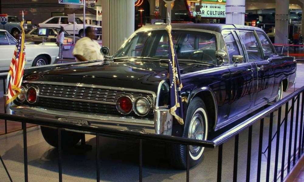 John F Kennedy Assassination Car Jfk Assassination Car History
