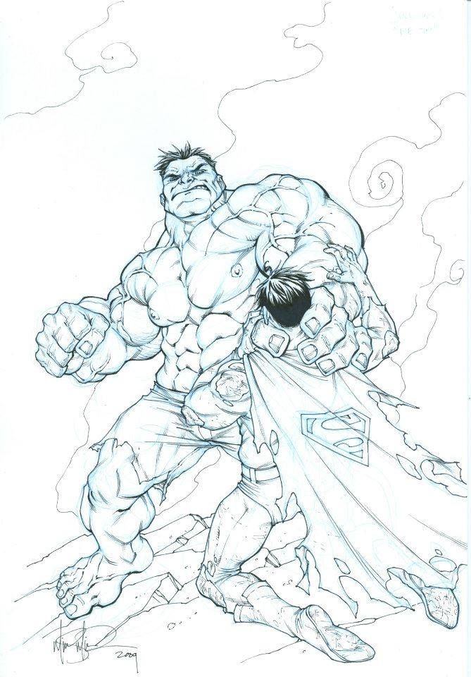 Crossover The Hulk vs Superman by Mike S. Miller * | Gotham ...