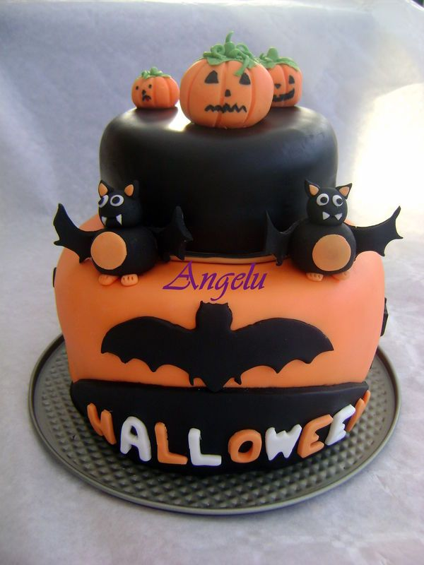 Decoration pour gateau halloween