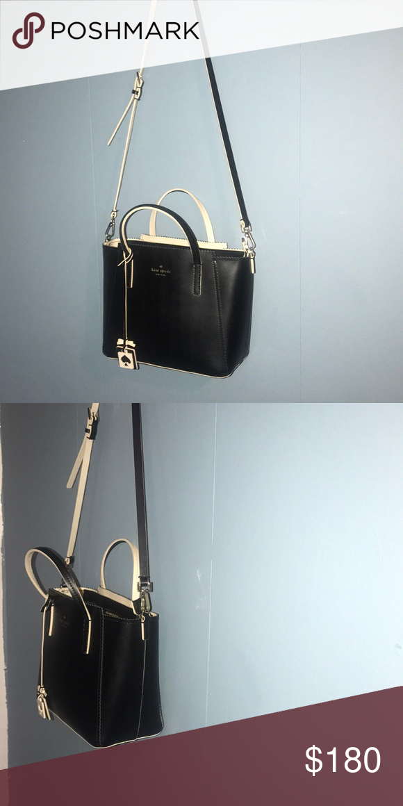758aa34a5cf5 Small Kate Spade purse price drop!!!! Small black Kate spade purse with  nude details Price drop only for an hour!!!!! kate spade Bags Crossbody Bags