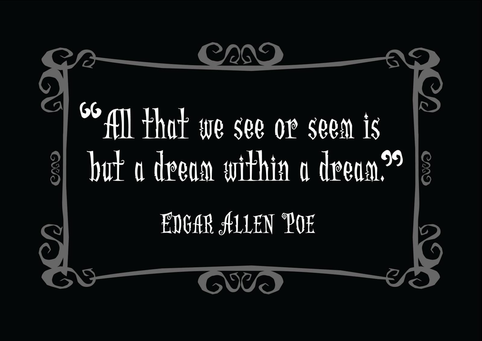 Edgar Allan Poe Life Quotes Fascinating Edgar Allan Poe Quotes On Music  Google Search  Edgar Allan Poe