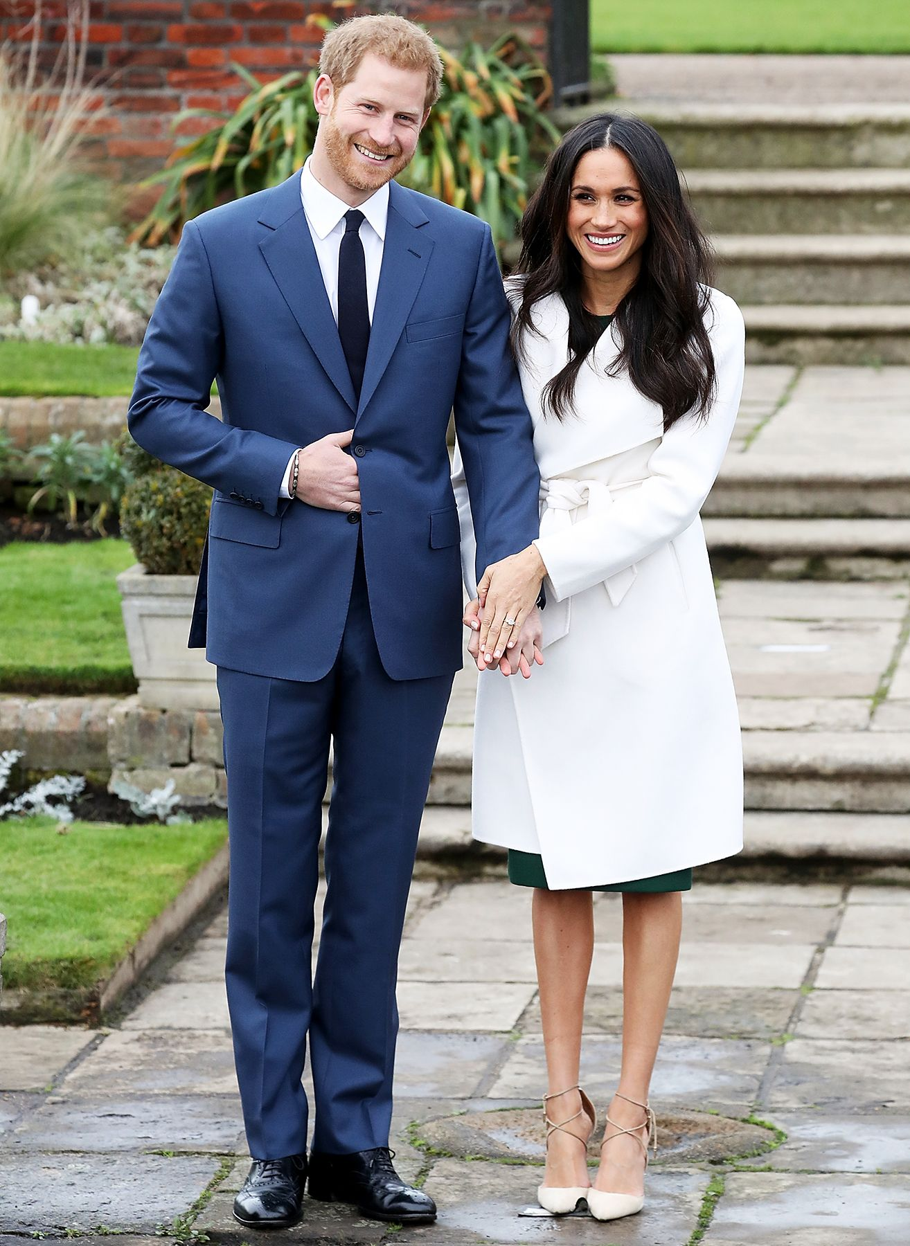 Prince Harry And Meghan Markle Look So In Love At Engagement Photo Call Meghan Markle Stil Meghan Markle Prinz Harry