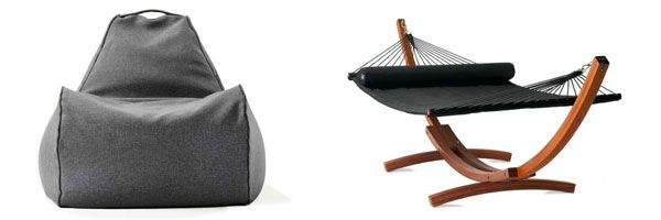 bean bag chair and hammock lujo picks   our favourite side tables   hammocks inspiration and      rh   pinterest