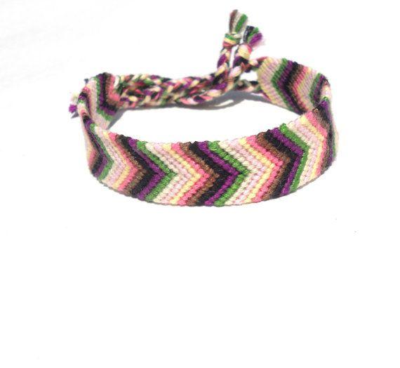 Chevron Handmade Friendship Bracelet