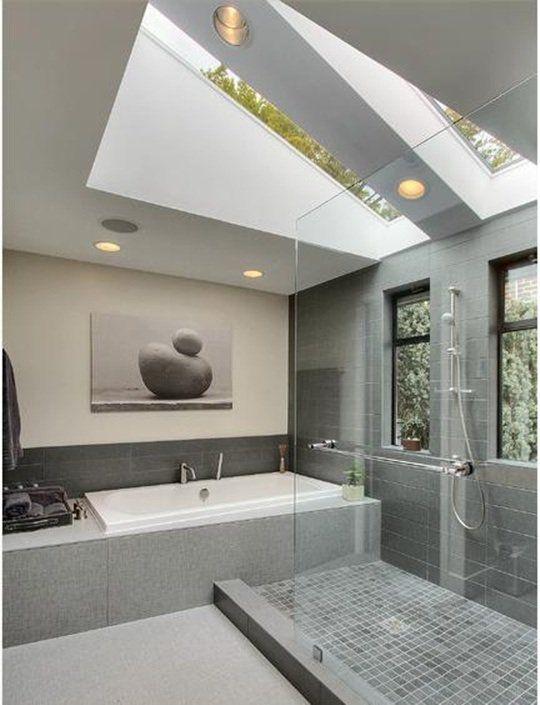 Salle de bains sous les combles - 26 bonnes idées utiles | Modern ...