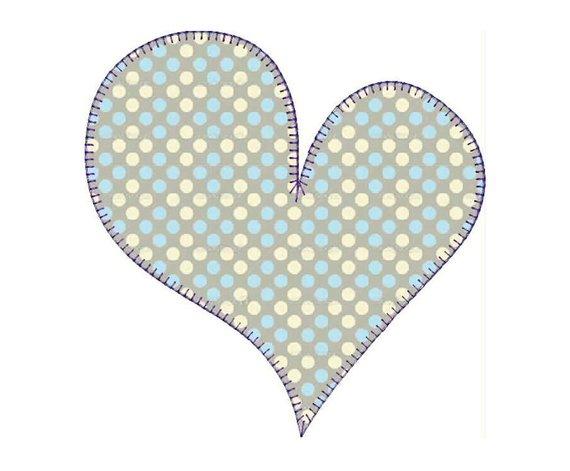 Machine embroidery designs applique heart baskets set