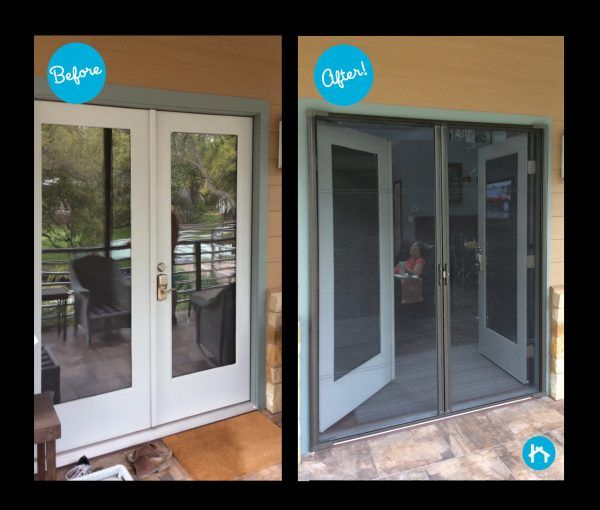 This One Is A No Brainer Brisa Retractable Screens Are A Huge Benefit To Anyone Looking To Enjoy A Litt Retractable Screen Retractable Screen Door Screen Door