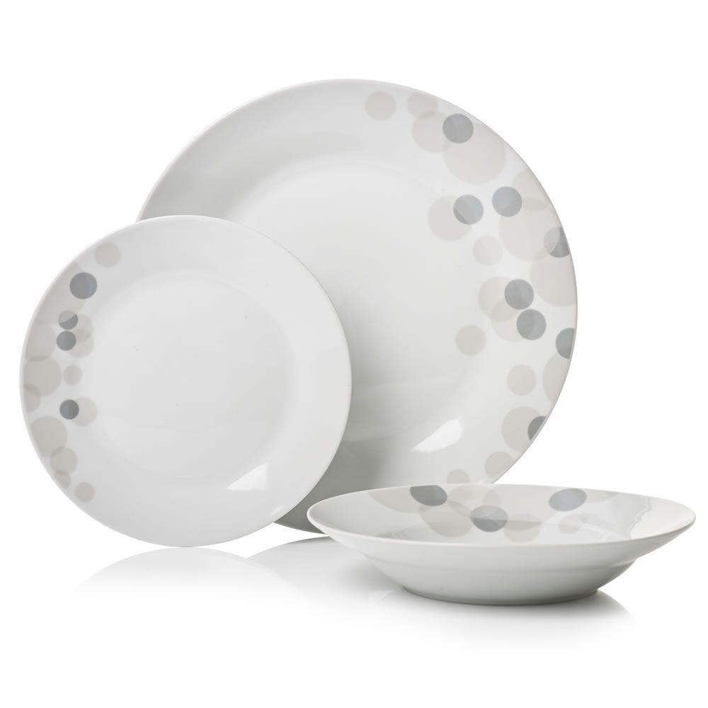Sabichi Pebble 12 piece Dinner Set - Wilko | Home :) | Pinterest