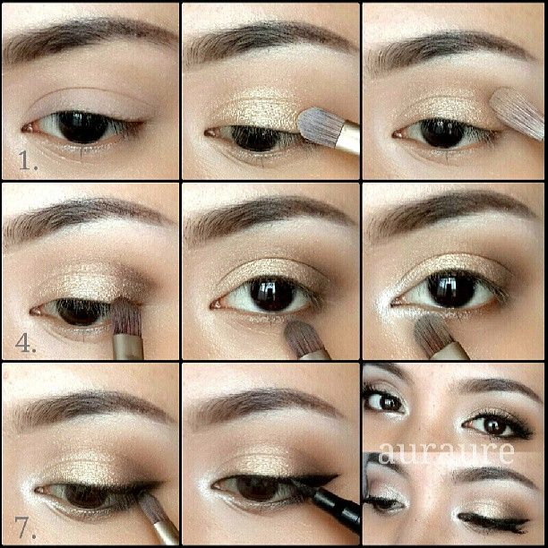 Apply Laura mercier eye base. (Make sure knows the ...