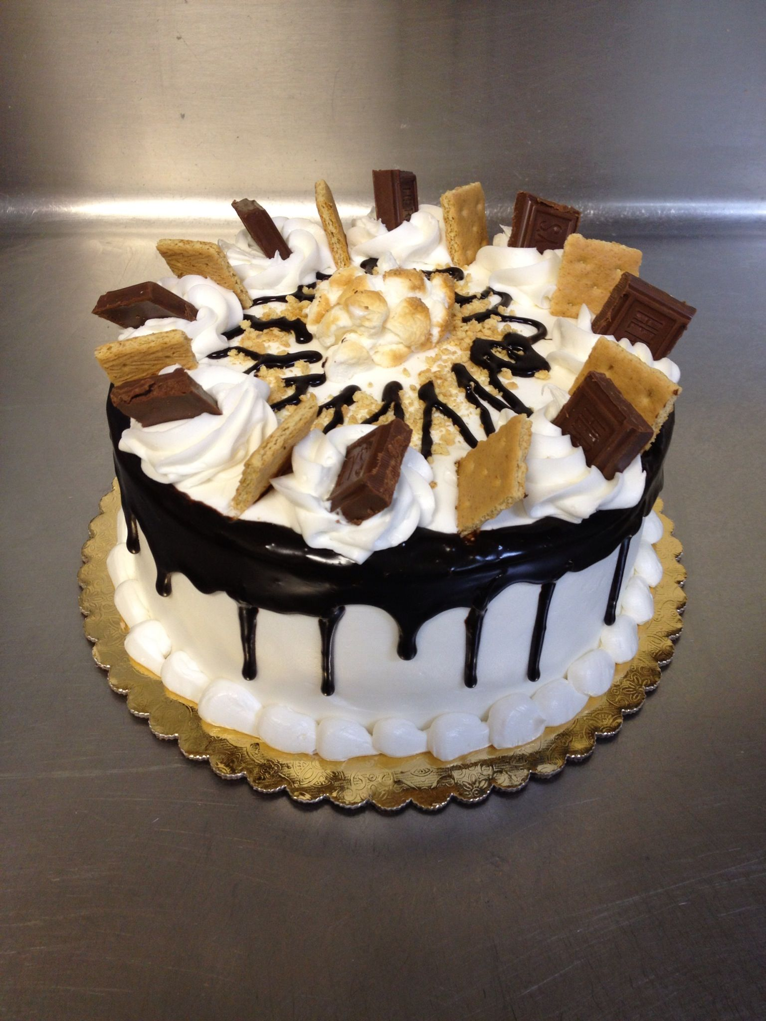 Smores Cake No Bake Treats Pumpkin Bread Wedding Stuff