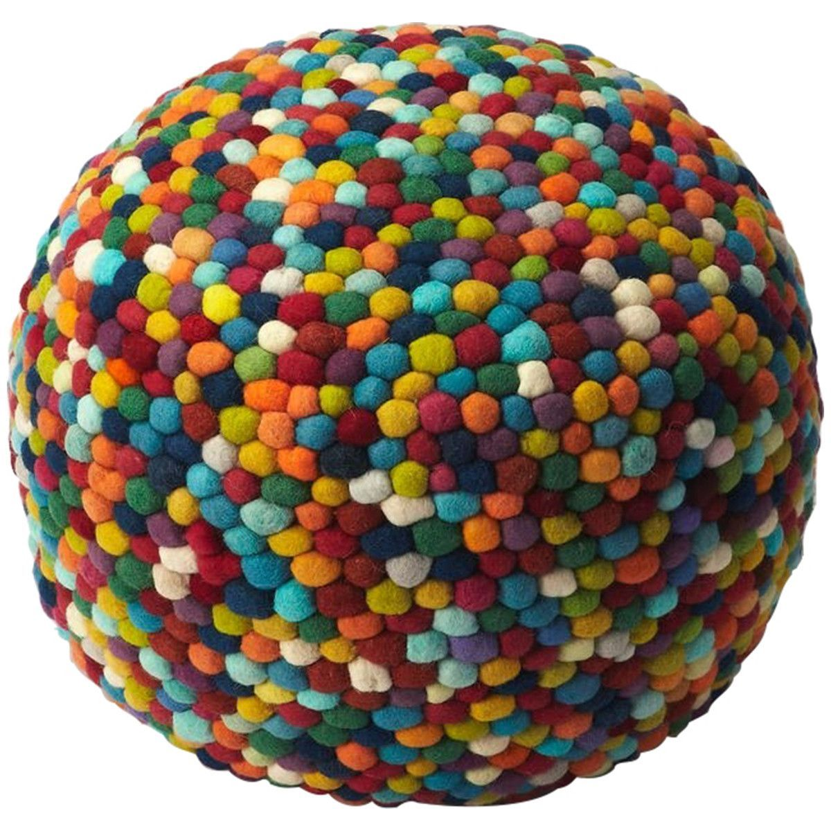 Butler Accent Seating Felicity Multicolor Pouffe
