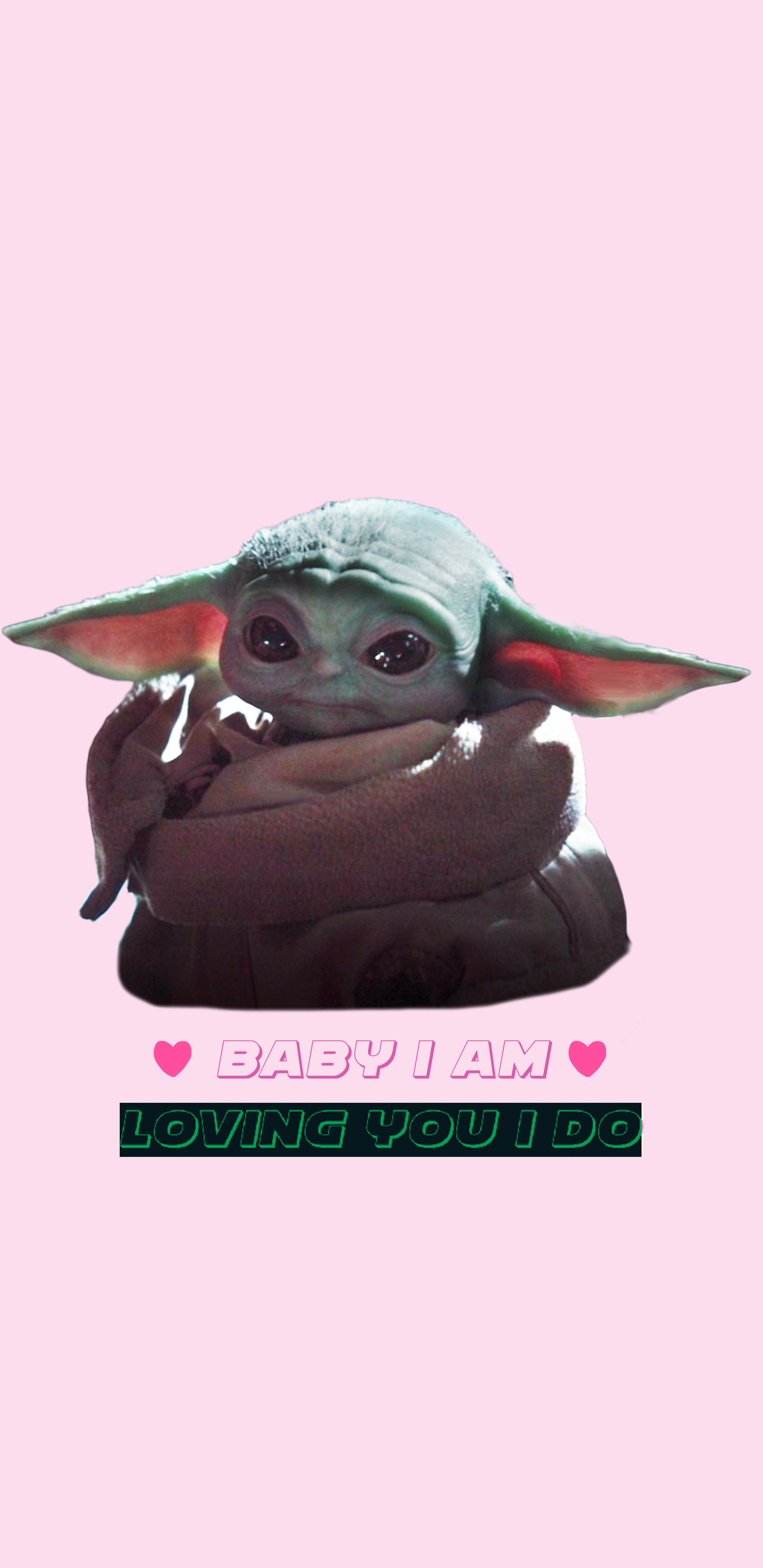 Baby Yoda Phone Background in 2020