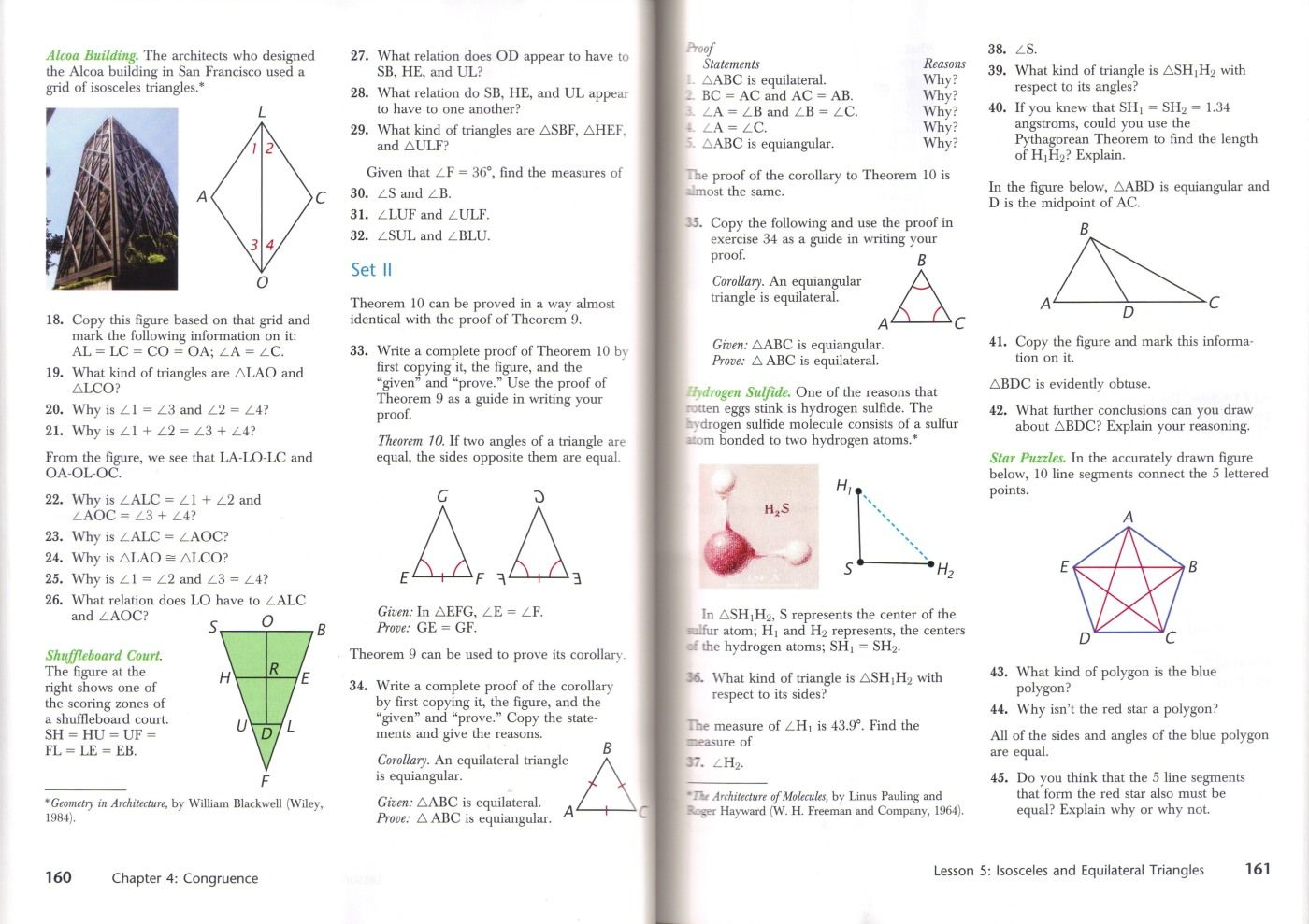 Review Of Harold Jacobs Geometry Seeing Doing Understanding Third Edition Math Worksheets Basic Math Worksheets Geometry Worksheets