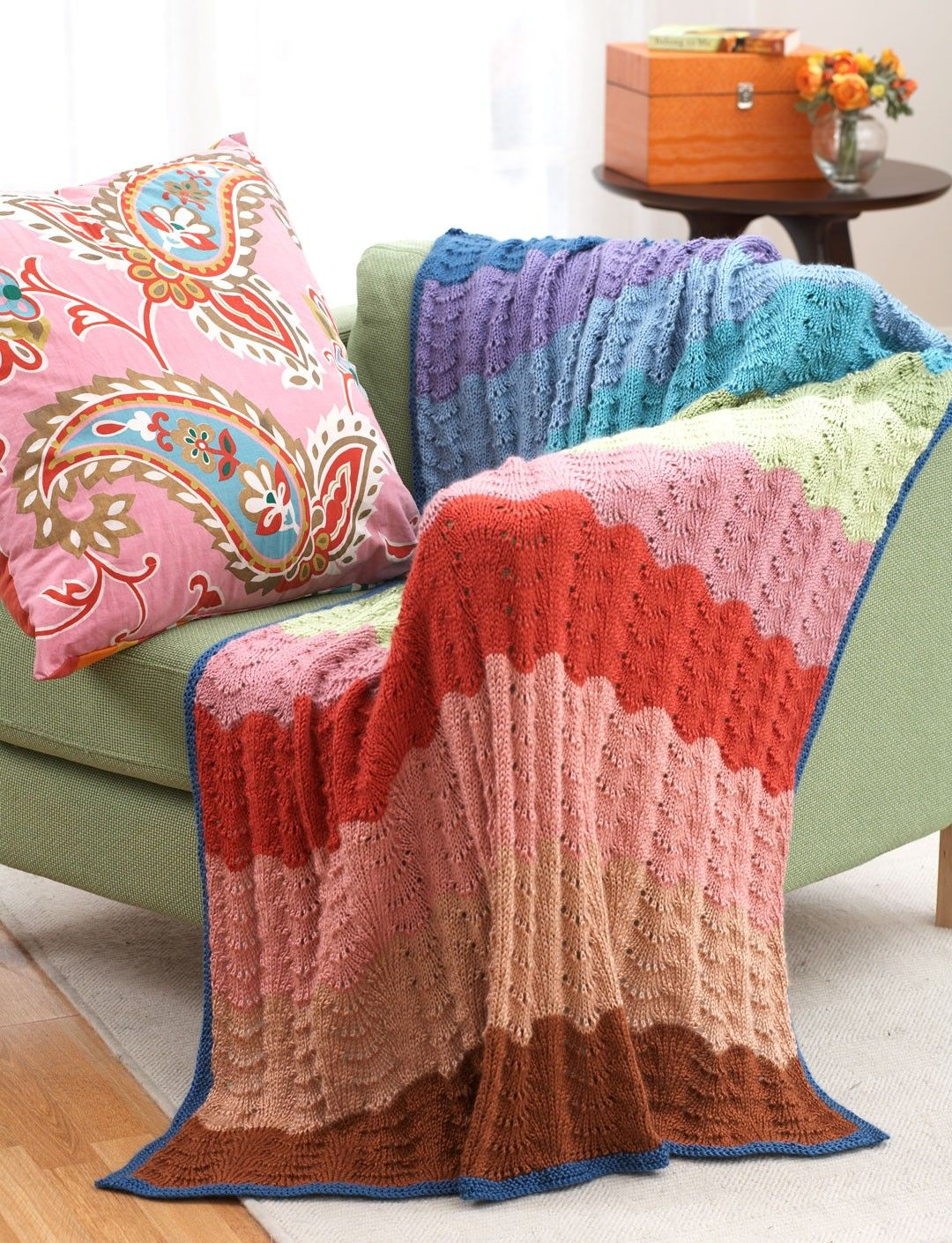 Yarnspirations bernat feather and fan afghan patterns yarnspirations bernat feather and fan afghan patterns yarnspirations bankloansurffo Images