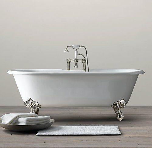 MOSHITA — Vintage Imperial Clawfoot Soaking Tub