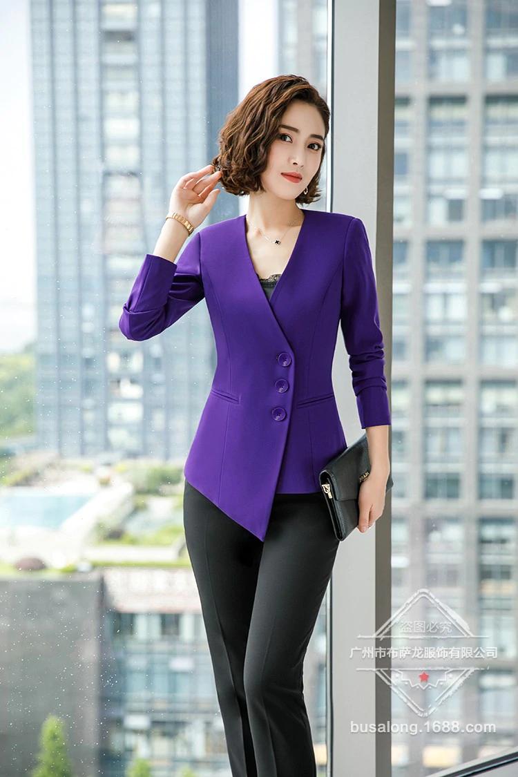 47a4413194c Trajes formales para mujer, ropa de trabajo, uniforme de oficina para  mujer, trajes